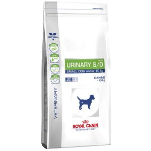 Royal Canin Veterinary Diet Chien Urinary S/O Small Dog USD 20 - Sac 1,5 kg