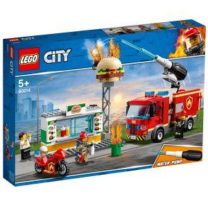 Lego City - L'intervention des pompiers au restaurant de hamburgers - 60214