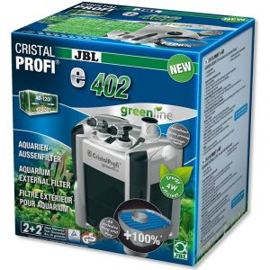 JBL CristalProfi e402 greenline - Filtre extérieur pour aquariums de 40 à 120 litres