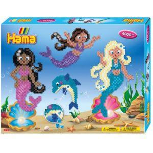 Hama Kit géant Perle Midi - Les sirènes - 4000 perles