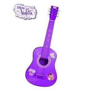 WDK Partner Guitare Violetta 65 cm - 6 cordes métalliques