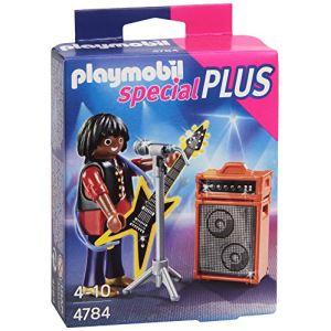 Playmobil 4784 Special Plus - Chanteur de rock avec guitare