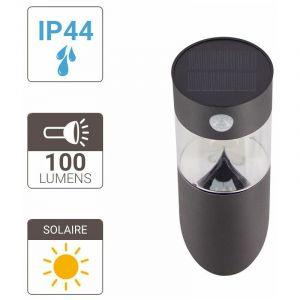 Xanlite |Applique LED Solaire, à détecteur de mouvements, 100 lumens (éclairant)|SO1611A