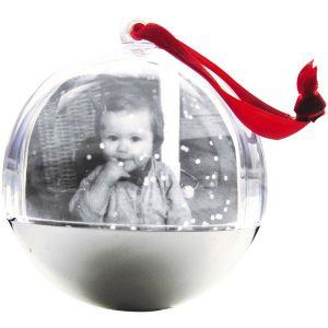 decopatch Boule de neige en papier mâché à décorer 8,5 cm