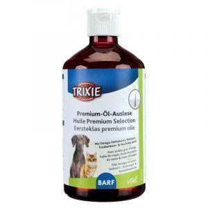 Trixie Huile Premium Selection huile de graine de colza, huile de tournesol, huile de saumon 500 ml