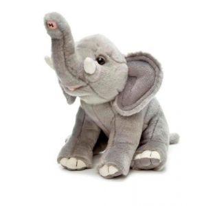 Les caouettes 30999039 - Peluche éléphant 20 cm