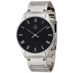 Calvin Klein Montre bracelet à quartz analogique en acier inoxydable k4d2114y