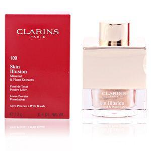 Clarins Skin Illusion 109 Wheat - Fond de teint poudre libre