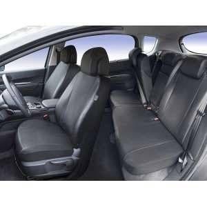 DBS Housse siège Voiture sur-mesure Simili : SEAT Leon (10/2012 à 2017)