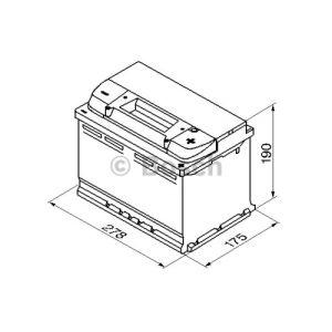 Bosch 0092S50080 - Batterie de démarrage