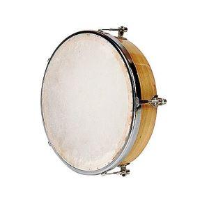 Fuzeau 571 - Tambourin peau naturelle sans cymbalettes pour enfant