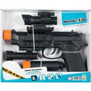 WDK Partner Pistolet intervention son et lumières