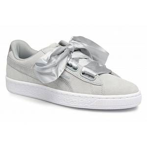 Puma Suede Heart Safari, Basket Mode Femme, Gris (Quarry-Quarry), 40 EU