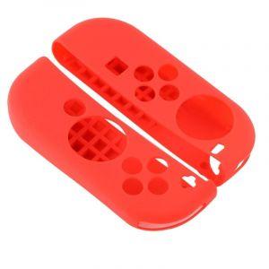 Nintendo Pour Switch Game Bouton Rouge Silicone Housse De Protection 2 Pcs