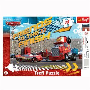 Trefl Puzzle cadre: Cars 15 pièces