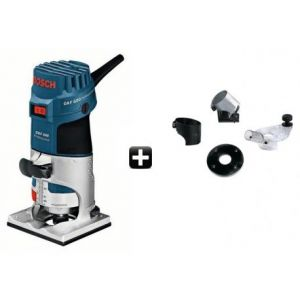 Bosch Affleureuse de paume GKF 600 + accessoires - Coffret standard Pro 060160A101