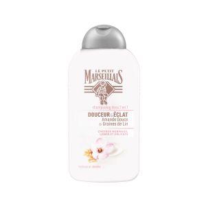 Le Petit Marseillais Douceur & éclat - Shampooing doux 2 en 1