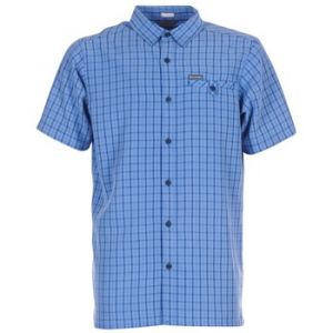 Columbia Chemise DECLINATION TRAIL II SHORT SLEEVE SHIRT bleu - Taille S