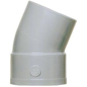 GIRPI Coude PVC 22°30 MF (40) - Ø mm : 40 -