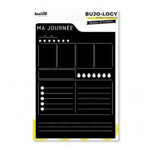 Kesi'art Pochoir d'écriture pour bullet journal - Bujo Logy - Ma journée