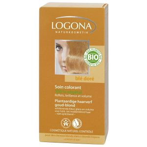 Logona Soin colorant végétal blé doré - 100 g