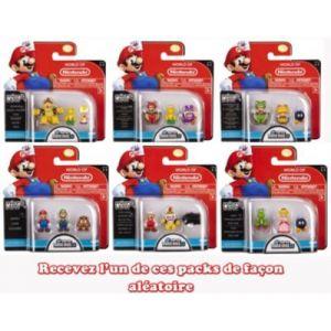Abysse Corp Nintendo - Pack 3 figurines Mario, Luigi, Goomba