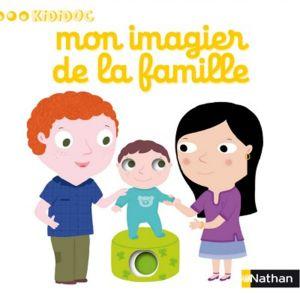 Nathan Livre Kididoc Mon imagier de la famille
