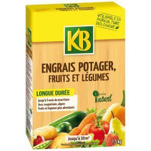 KB Engrais biologique potager granules 1.5kg