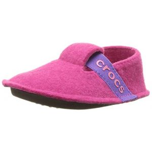 Crocs Classic Slipper, Chaussons Mules Mixte Enfant, Rose (Candy Pink) 32/33 EU