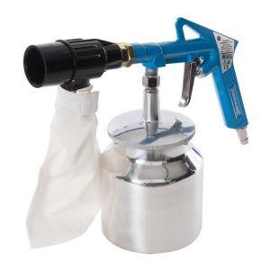 Silverline Kit de sablage avec système de récupération d'abrasif 6 pcs