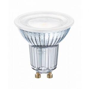 Osram Ampoule LED EEC: A+ (A++ - E) LED STAR PAR16 50 120° 4.3 W/2700K GU10 4058075303263 GU10 Puissance: 4.3 W blanc