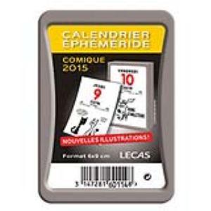 Lecas 60114100 - Bloc éphéméride comique 2012 (6 x 9 cm)