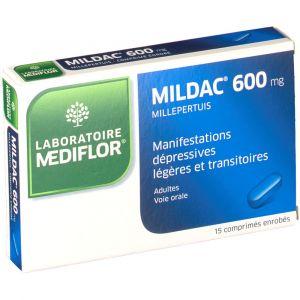 Merck Mildac 600 mg - 15 Comprimés