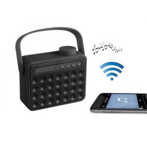 Clip Sonic TES142N Haut-parleur radio compatible Bluetooth