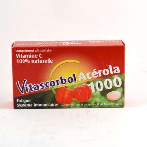 Cooper VitascorbolAcérola 1000 - 30 comprimés Croquer goût fruits rouges