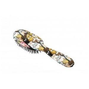Rock and Ruddle Cats & dogs Petit Format - Brosse à cheveux en poils de sanglier