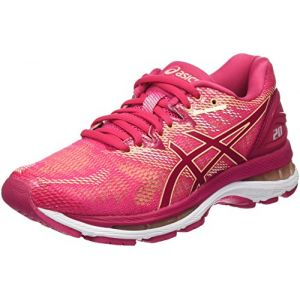Asics Gel-Nimbus 20, Chaussures de Running Femme - Rose (Bright Rose/Bright Rose/Apricot Ice 2121), 37 EU