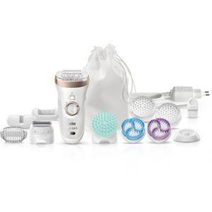 Braun Silk-Epil 9 Skin Spa - Épilateur électrique avec accessoires