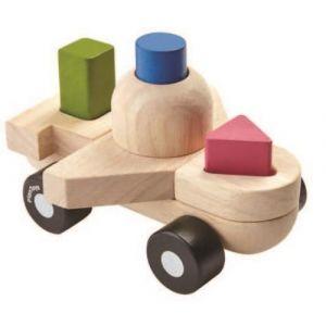 Plan Toys Jeu en bois Mon premier avion de construction