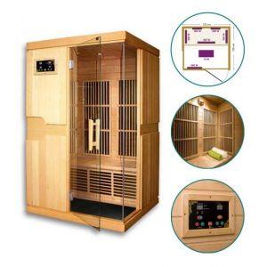 GW Instek Sauna infrarouge Missandei - 2 places