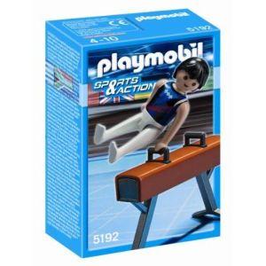 Playmobil 5192 - Gymnaste et cheval-d'arçons