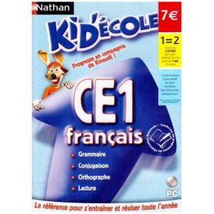 Kid'ecole CE1 : Français 2008 [Windows]