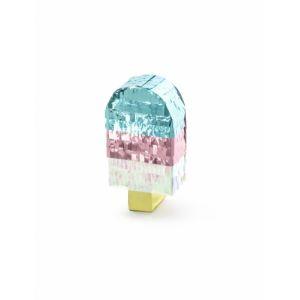 Mini pinata glace métallisée 6 x 11,5 x 3,5 cm Taille Unique