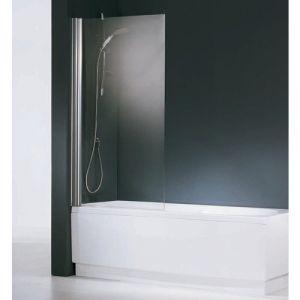 Novellini Pare-baignoire verre transparent - 1 ventail - 150 x 80 cm - Aurora