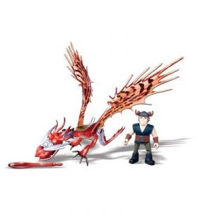 Spin Master Figurines avec armure dragons : Rustik et Croche-fer