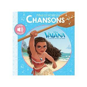 Hachette Mes premières chansons Vaïana Disney