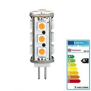 Paulmann Ampoule LED G4 28276 à broches 2.5 W blanc chaud (Ø) 1.5 cm EEC: A+ 1 pc(s)