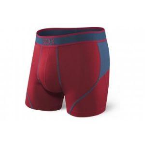 Saxx Underwear Saxx - Kinetic Boxer - Sous-vêtements synthétiques taille XL, rouge