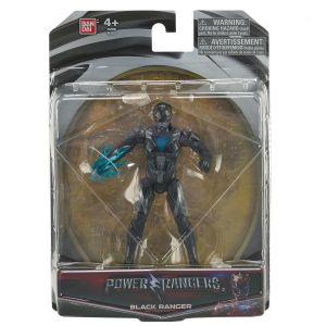 Bandai Figurine 12cm Power Ranger Noir Movie