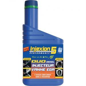 Nettoyant injecteurs + vanne EGR Duo Diesel EGR INJEXION 5 500 ml